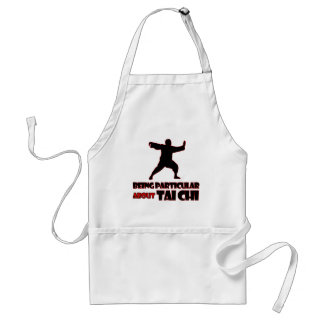 tai chi     Designs Adult Apron