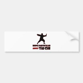 tai chi     Designs Bumper Sticker