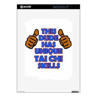 TAI CHI Designs Decal For The iPad 2
