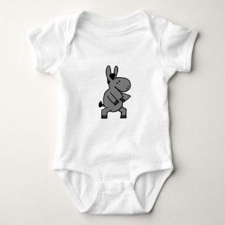 tai chi donkey baby bodysuit