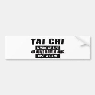 Tai Chi Gifts Bumper Sticker