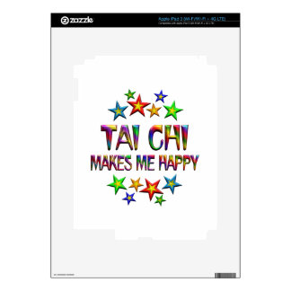Tai Chi Happy Decals For iPad 3