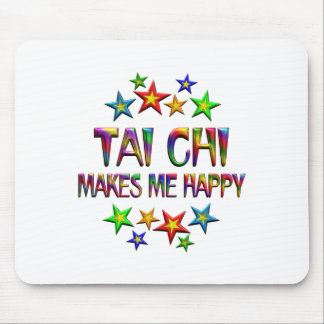 Tai Chi Happy Mouse Pad