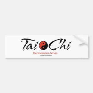 Tai Chi 'Harmonious Action' Bumper Sticker