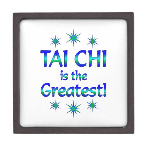 Tai Chi is the Greatest Premium Trinket Boxes