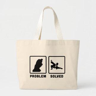 Tai Chi Large Tote Bag