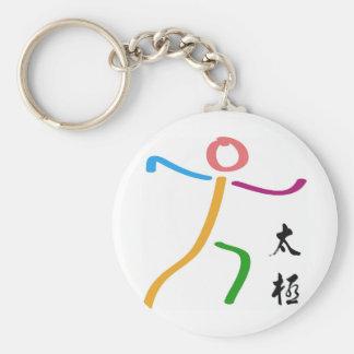 Tai Chi Logo Key Chains