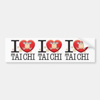 Tai Chi Love Man Bumper Sticker