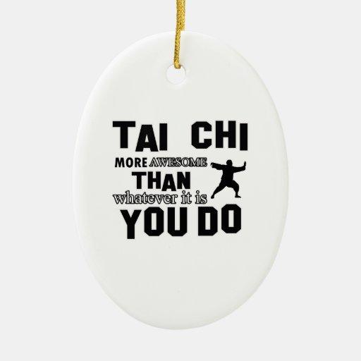 TAI CHI MARTIAL arts gifts Christmas Tree Ornaments