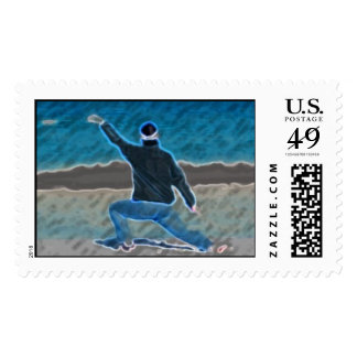 Tai Chi on the Beach Stamps