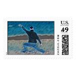 Tai Chi on the Beach Stamp