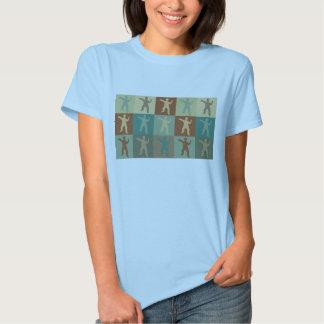 Tai Chi Pop Art Tee Shirt