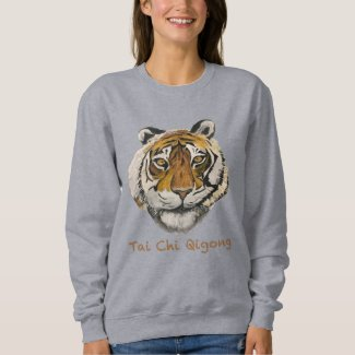 Tai Chi Qigong Tiger Women's Sweatshirt