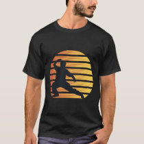 Tai Chi Retro 80s Style Sunset Martial Arts T-Shirt
