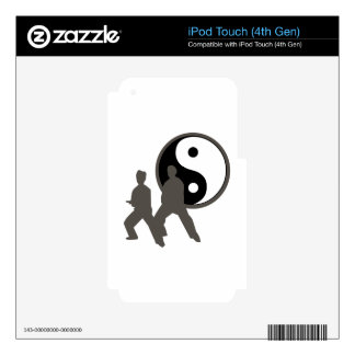 Tai Chi Decals For iPod Touch 4G