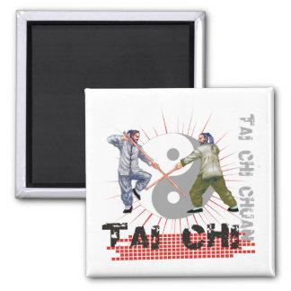 Tai Chi Staff Fighting Magnet
