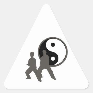 Tai Chi Triangle Sticker