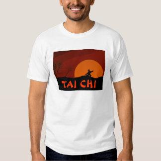 TAI CHI SUNSET MAN MONK COLOR TEE SHIRT