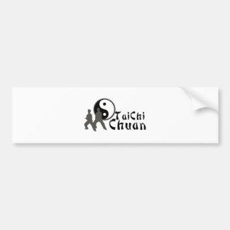 Tai Chi Tai Chi Chuan Car Bumper Sticker
