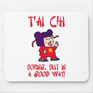 tai chi t'ai ji boring but in a good way cute mouse pad