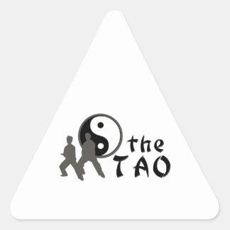 Tai Chi The Tao Triangle Sticker