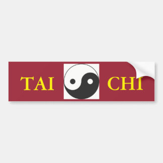 tai chi YIN & YANG SYMBOL Bumper Sticker