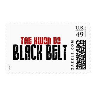Tai Kwan Do Black Belt Karate Stamp