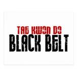 Tai Kwan Do Black Belt Karate Postcard