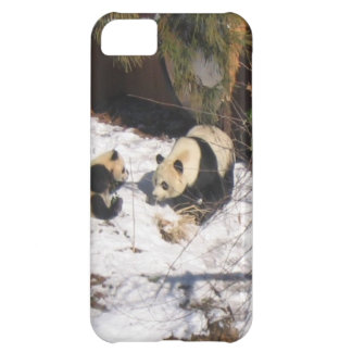 Tai Shan and Mei Xiang, giant panda bears iPhone 5C Cover