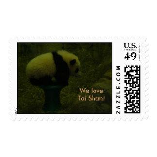 Tai Shan * We LOVE Tai Shan * Postage
