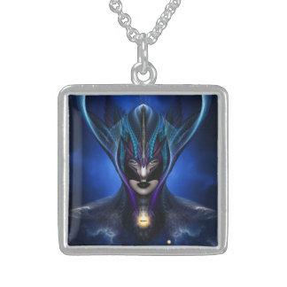 Taidushan Sai Shadow Blue Necklace