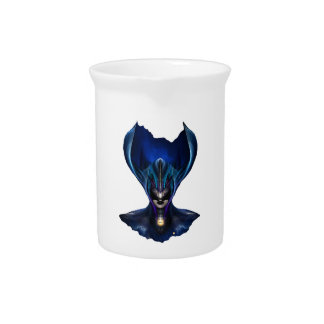 Taidushan Sai Shadow Blue Pitcher
