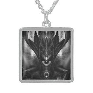 Taidushan Sai TOT BlackSun Silver Necklace
