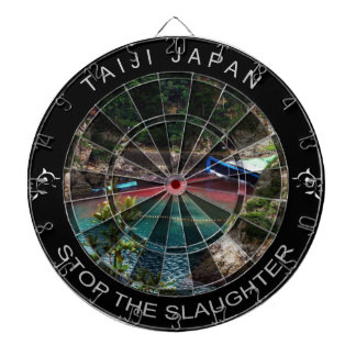 Taiji Japan - Stop The Slaughter Dartboard