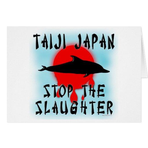 Taiji Slaughter Cards