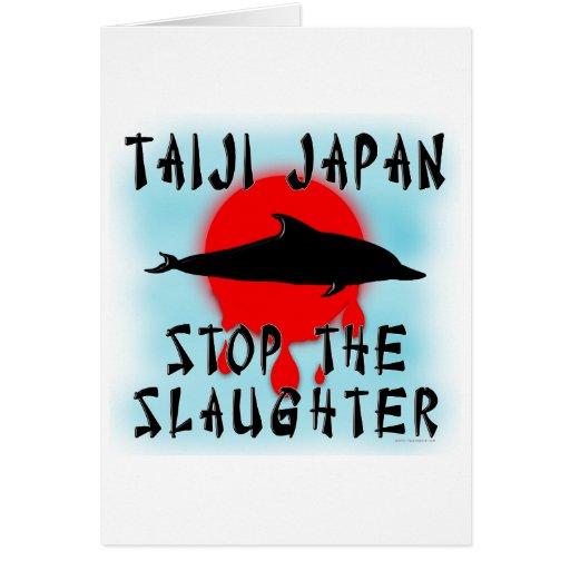 Taiji Slaughter Greeting Cards