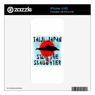 Taiji Slaughter iPhone 4S Decals