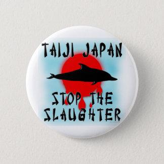 Taiji Slaughter Pinback Button