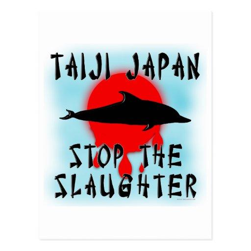 Taiji Slaughter Postcard