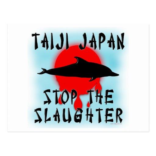 Taiji Slaughter Post Card