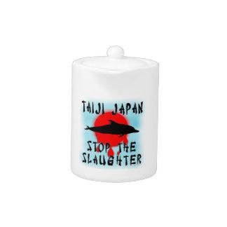 Taiji Slaughter Teapot