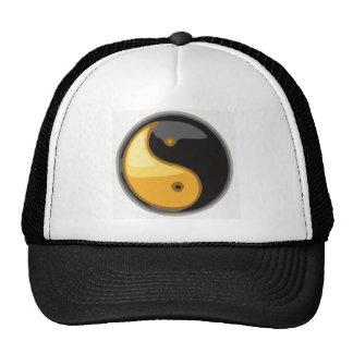 Taijitu_yellow Trucker Hat