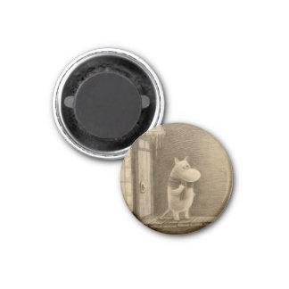Taikatalvi 1 Inch Round Magnet