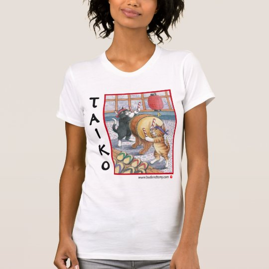 Taiko Cats Bud & Tony T-Shirt