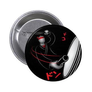Taiko - DoKo Don 2 Inch Round Button