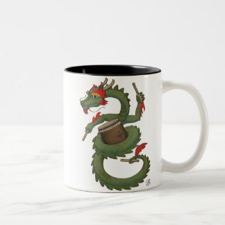 Taiko Dragon in Color Mugs