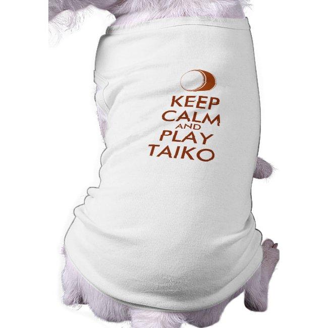 Taiko Gifts Keep Calm and Play Taiko Drum Custom