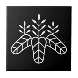 Taiko paulownia ceramic tile