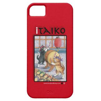 Taiko que teclea la caja del iPhone 5 de los gatos iPhone 5 Fundas