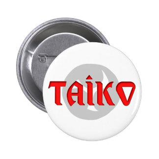 Taiko Symbol Design Pins